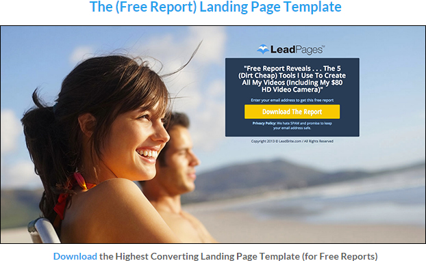 Top 5 Free Landing Pages For Download