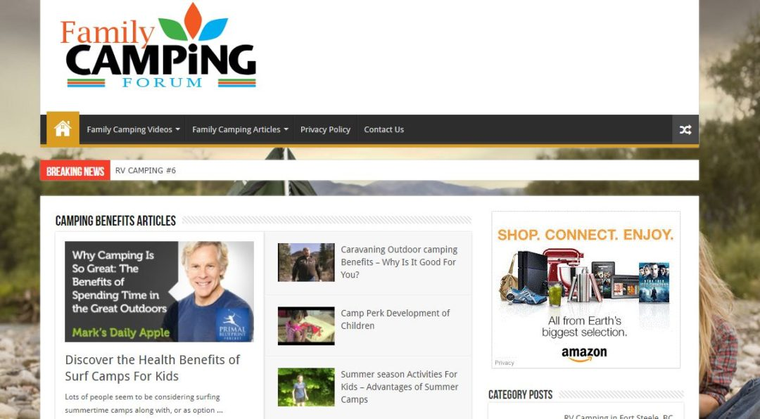 Family Camping Forum