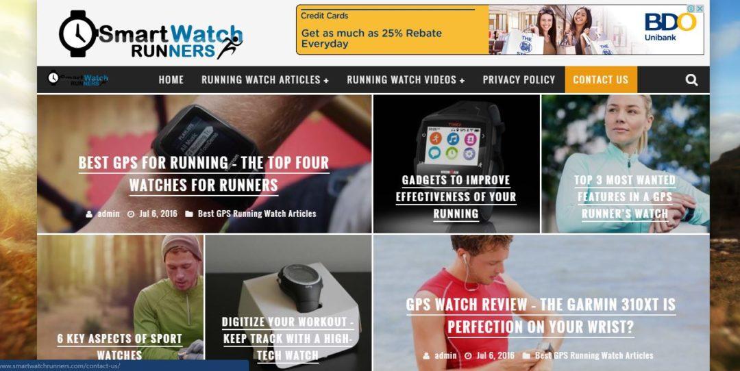 Smart Watch Runners