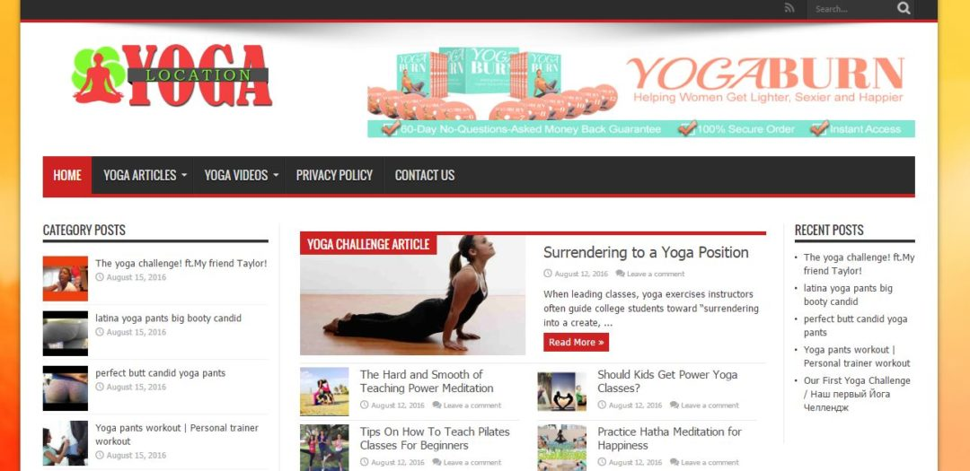 Yoga Location